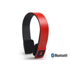Audiosonic HP-1642 Bluetooth Hoofdtelefoon Rood