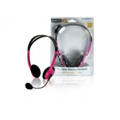 Basicxl Bxl-headset1 pi Draagbare Stereo Headset Roze