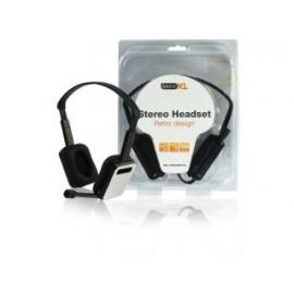 Basicxl Bxl-headset20 Retro Design Stereo Hoofdtelefoon
