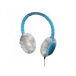 Hama 115988 Hoofdtelefoon Quilted Met Microfoon Blauw