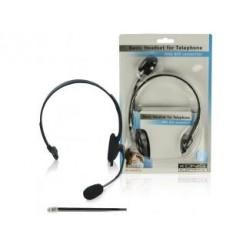 König Cmp-headset28 Headset met Rj9 Aansluiting