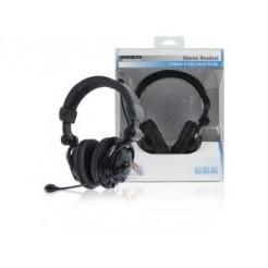 König Cmp-headset160 Stereo Headset Gesloten Design