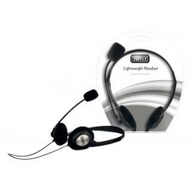Sweex HM400V3 Sweex Lichtgewicht Headset Zwart/zilver