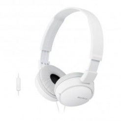 Sony MDR-ZX110NAW Wit - Lifestyle-hoofdtelefoon Noise Cancelling