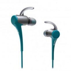 Sony MDR-AS800BTL Blauw - In Ear oortelefoon, Bluetooth