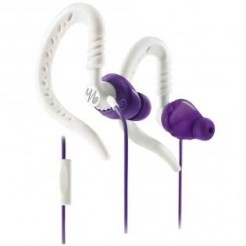 Yurbuds Focus 300 Women Lila/wit - Sport-Beugel oortelef - Universal-Remote